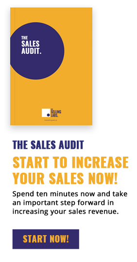 Side Bar The Selling Labs - Sales Audit