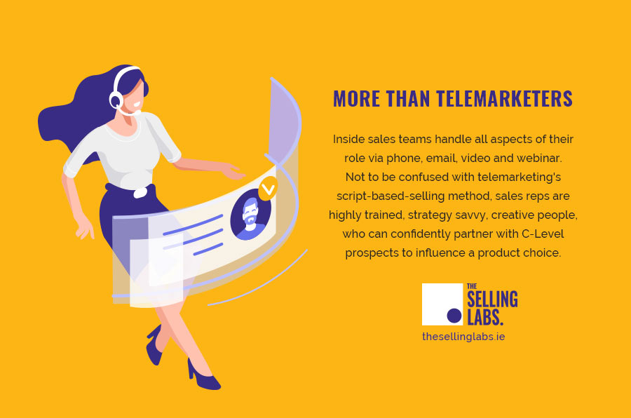 Inside Sales - More Than Telemarketers - The Selling Labs