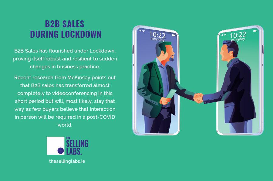 B2B Sales During Lockdown - The Selling Labs