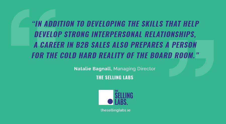 B2B Sales Skills - Natalie Bagnall - The Selling Labs