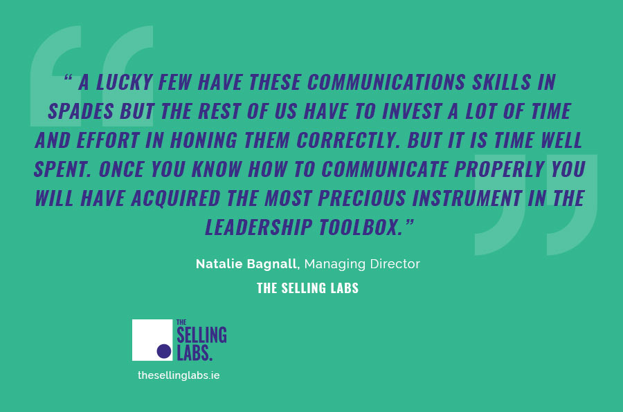 Communication Skills Executive Coaching - The Selling Labs - Natalie Bagnall