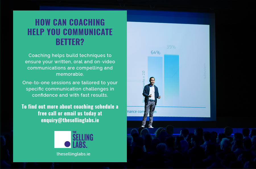 The Executive Communication Coaching Ireland - The Selling Labs