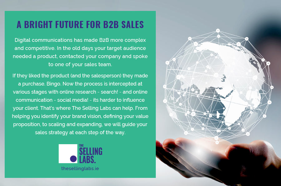 The Future of B2B Sales - The Selling Labs