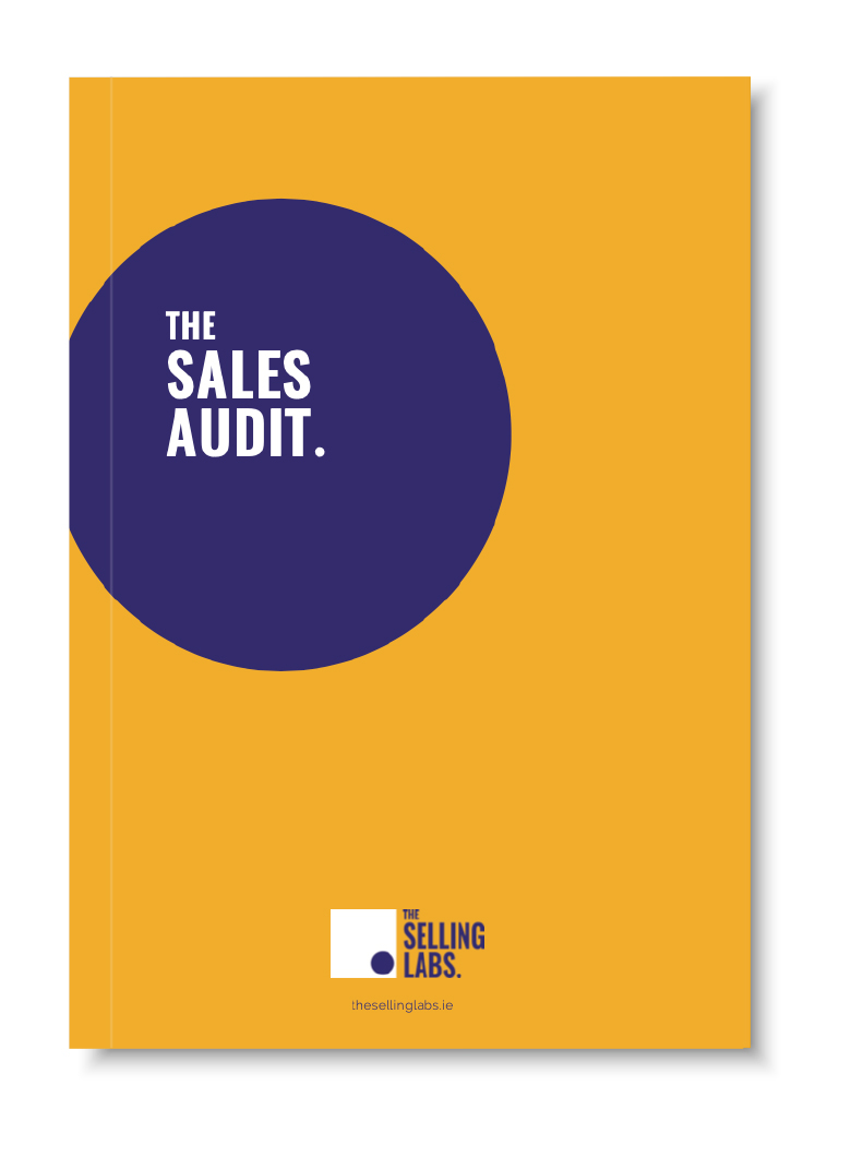 The Selling Labs - Sales Audit Pop Up