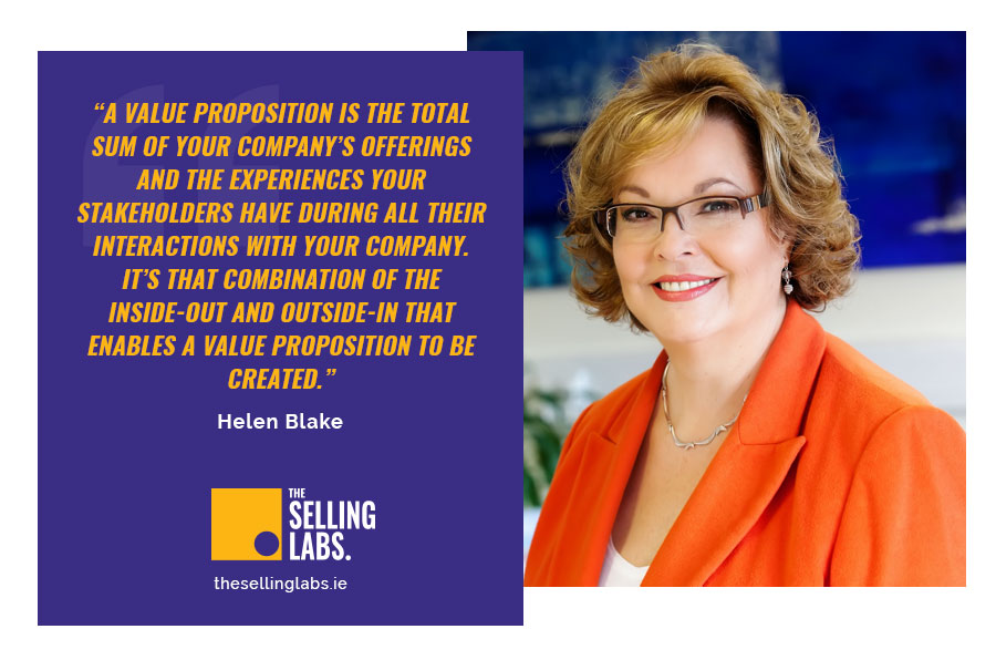 What is value proposition - Helen Blake - Leadership Corner Selling Labs
