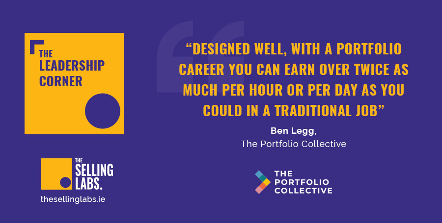 Portfolio Career - Ben Legg - Sales Consultancy