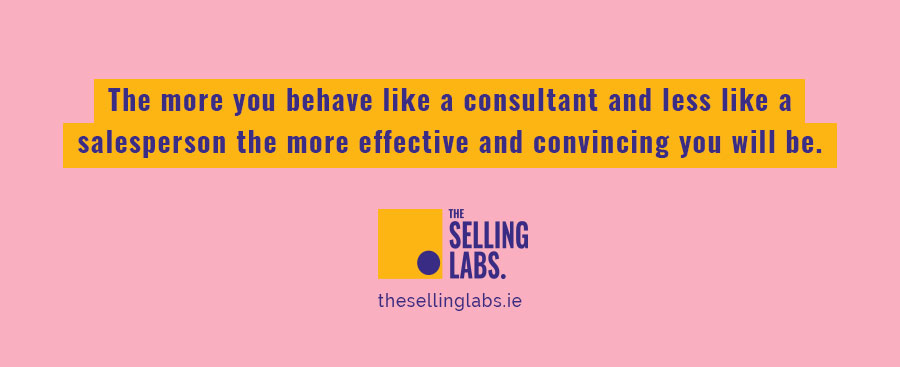 Sales Consultant - The Selling Labs - Dublin
