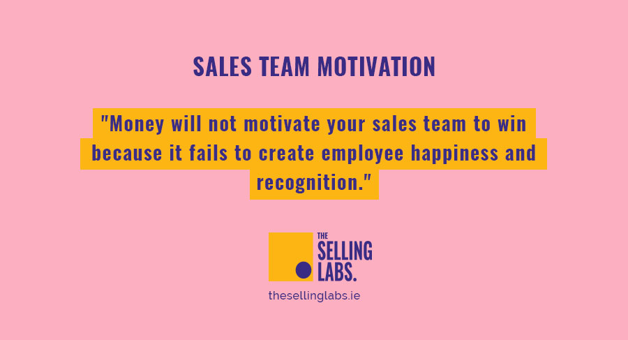 Sales Team Motivation - The Selling Labs